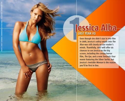 Jessica Alba en FHM