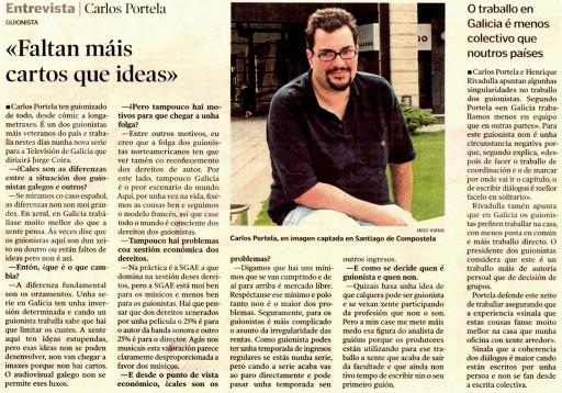 Entrevista a Portela