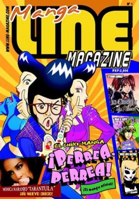 Portada do número 1 de Line Magazine