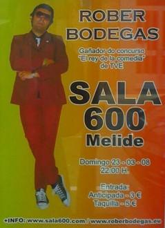 Rober Bodegas na Sala 600