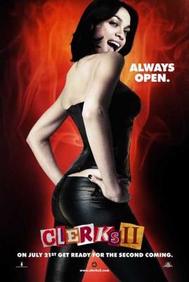 Rosario Dawson promocionando Clerks II