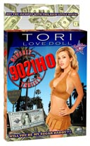 Tori Spelling hinchable