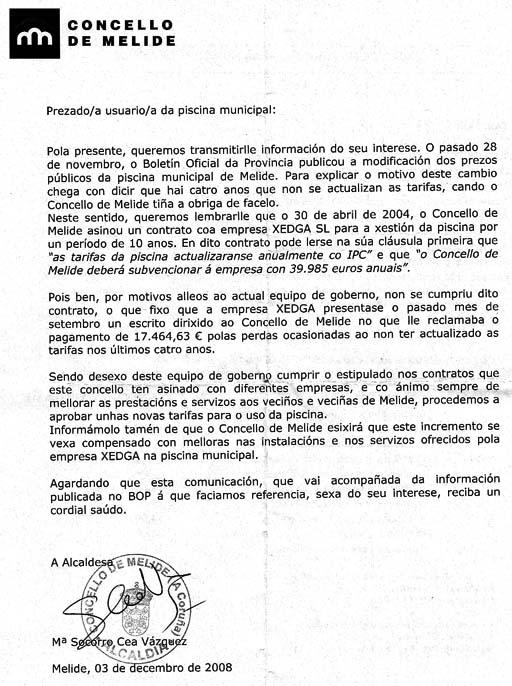 Carta do Concello