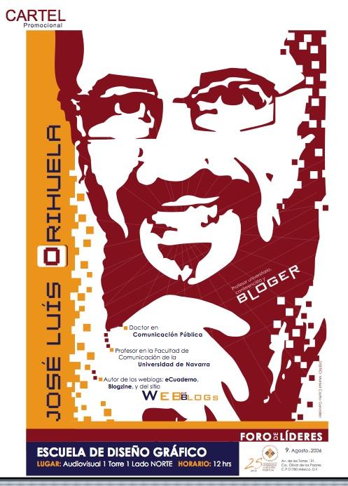 Cartel promocional do Foro de Líderes