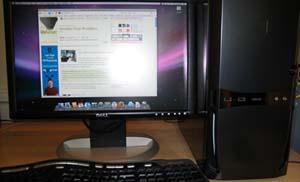 EFiX permitindo o uso de Mac OS X nun PC
