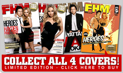 as catro portadas de FHM