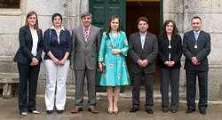 O novo goberno municipal de Melide