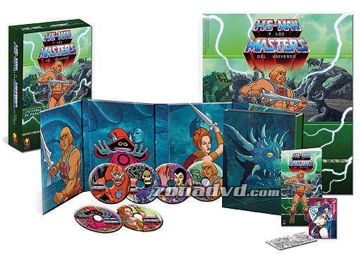 He-Man y los Masters del Universo en DVD