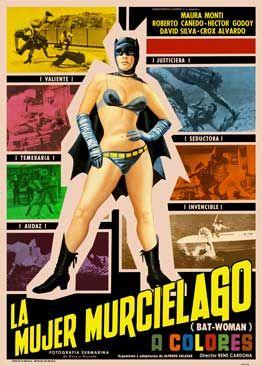 Carátula de la película La Mujer Murciélago