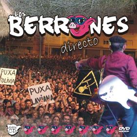 Portada del disco de Los Berrones