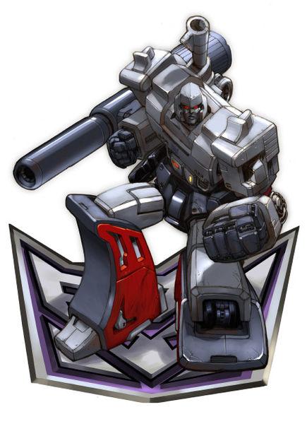 Deseño orixinal de Megatron