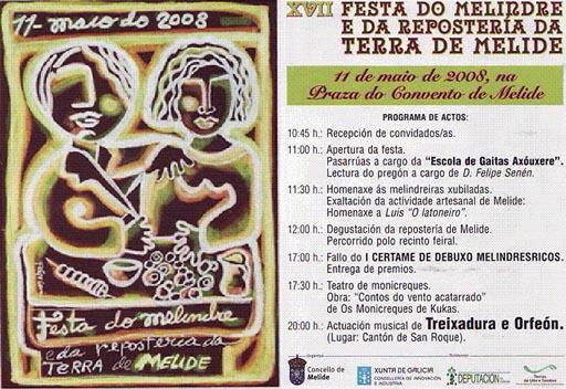 Programa da Festa do Melindre