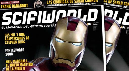 Primeiro número da edición en papel da revista ScifiWorld