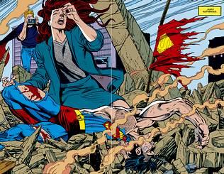 morte de Superman