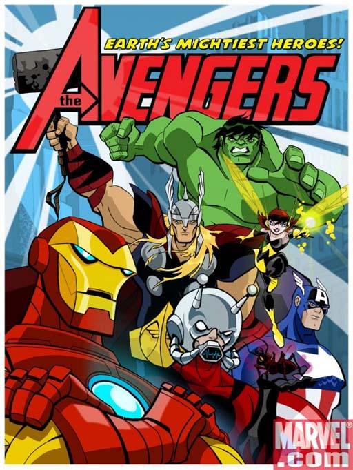 Nova serie dos Vingadores
