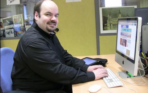Marcus Fernández nun encontro dixital en La Opinión