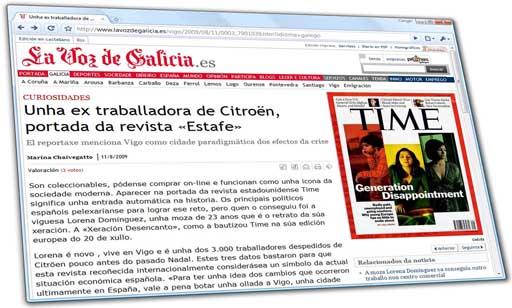 Revista Estafe en La Voz