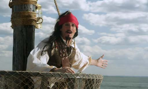 Michael Bolton como Jack Sparrow