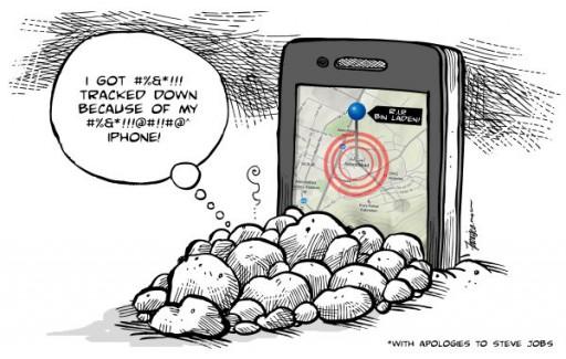 Osama iPhone