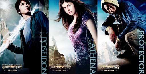 Os protagonistas da película
