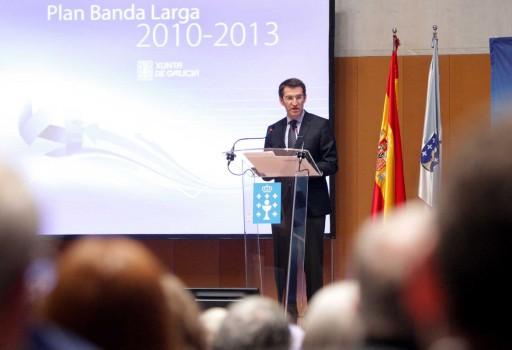 Presentación do Plan de Banda Larga