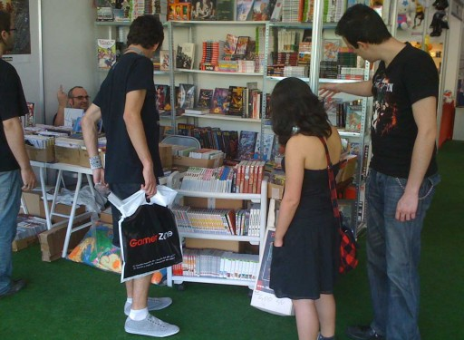 Tanxencias Comics en ExpOtaku