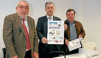 Juan Salgado, á esquerda, é o director de Terras de Santiago