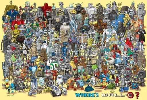 Onde está Wall·E?
