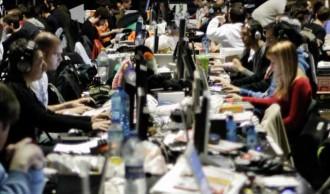 participantes do Xuventude Galiza Net dándolle ao vicio