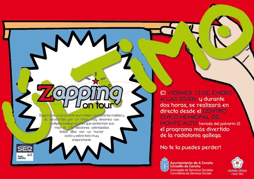 Zapping On Tour en Monte Alto