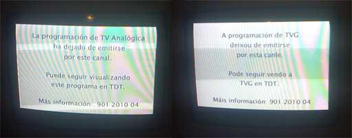 As canles autonómicas e estatais apagaron na Coruña