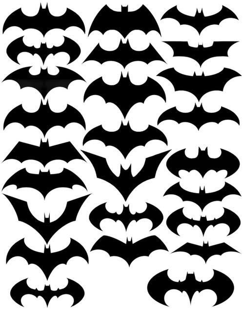 logotipos de Batman