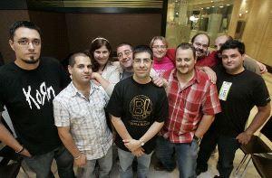 La reunión informal sirvió para que los blogueros pudieran compartir impresiones