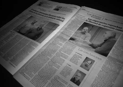 O debate nas páxinas de La Opinión