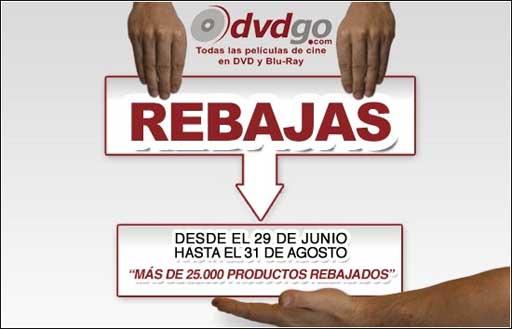 Rebaixas en DVDgo