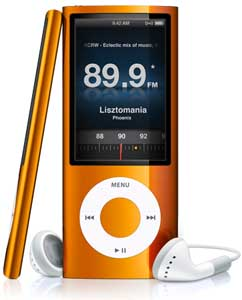 iPod nano con radio FM