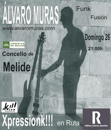 Álvaro Muras en Melide