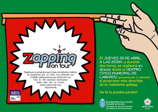 Zapping no centro cívico de Labañou