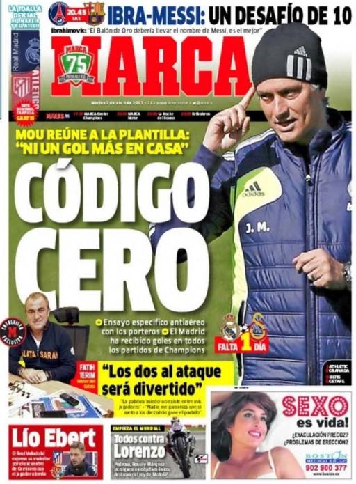 portada do Marca do 2 de abril de 2013