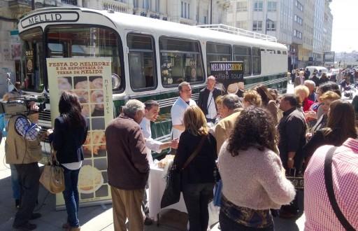 A Festa do Melindre na Praza de Lugo
