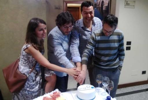 cortando a torta