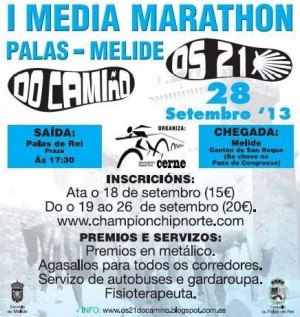 cartel da media maratón
