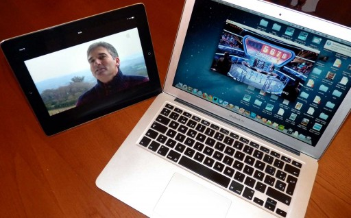 AverMedia HD HomeFree Duet nun iPad e nun MacBook Air