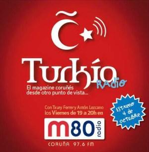 Anuncio de Turkía Radio