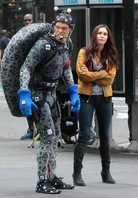 Megan Fox na rodaxe de TMNT
