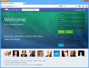 phpDolphin é o xestor de contidos que parece empregar Vituin actualmente