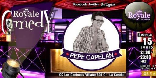 cartel do monólogo de Pepe Capelán