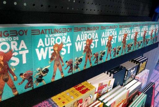 Aurora West en Alita Comics