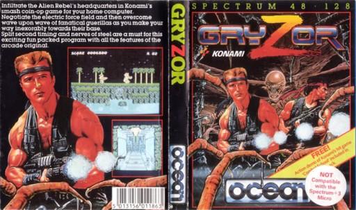 portada de Gryzor