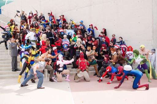 grupal de Marvel